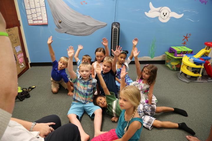 Children's class room at Calvary Chapel Mechanicsville