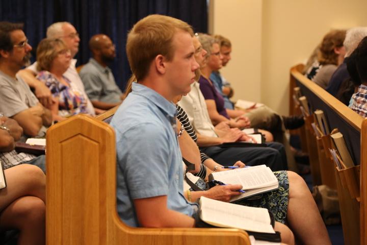 Studying the Bible at Calvary Chapel Mechanicsville
